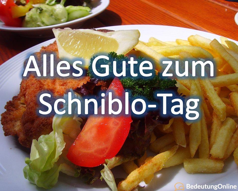 schnitzel- und blowjob-tag