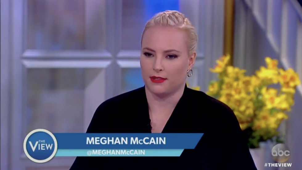 WATCH: Meghan McCain calls the Clintons 'a virus in the Democratic Party' https://t.co/I1eqrqMUTk https://t.co/rN9sZzk3Ev