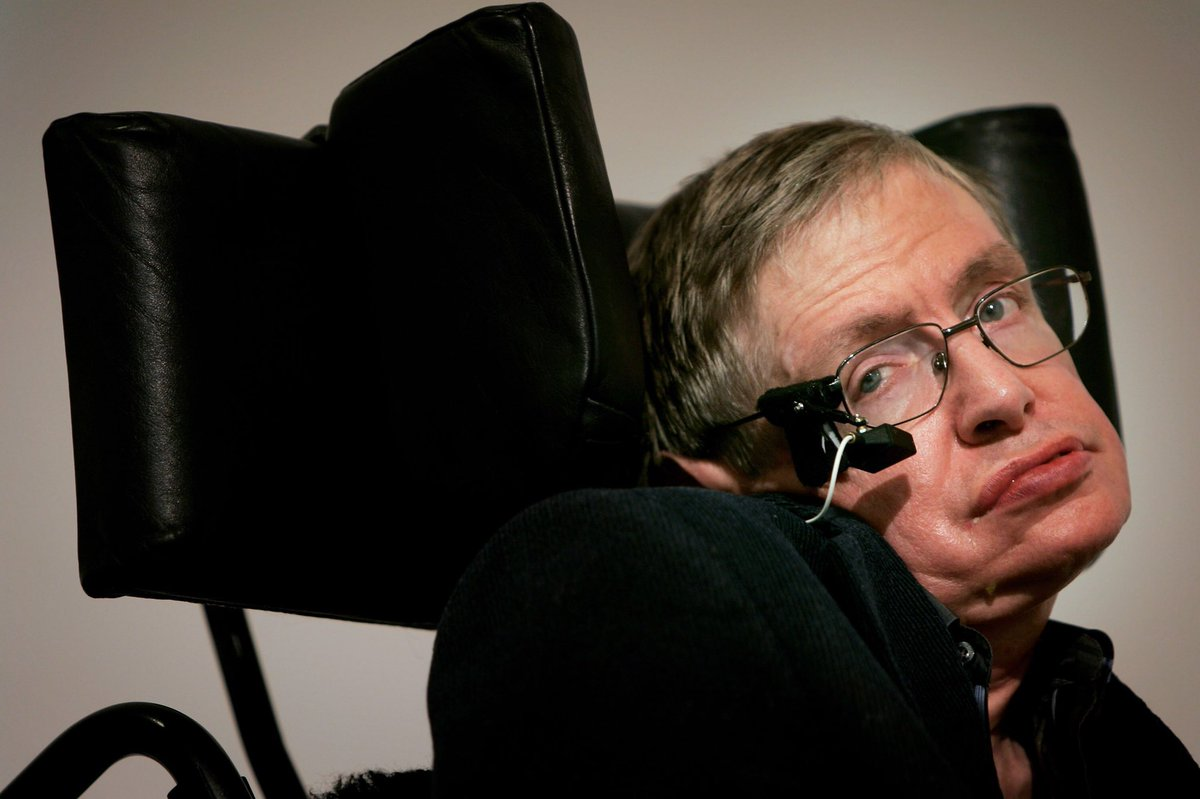 @BBCBreaking RIP Stephen Hawking. The most brilliant mind of our time. At 21, he was told he had 3 years to live. He made it to 76. He gave Humanity so much in those 50 years.