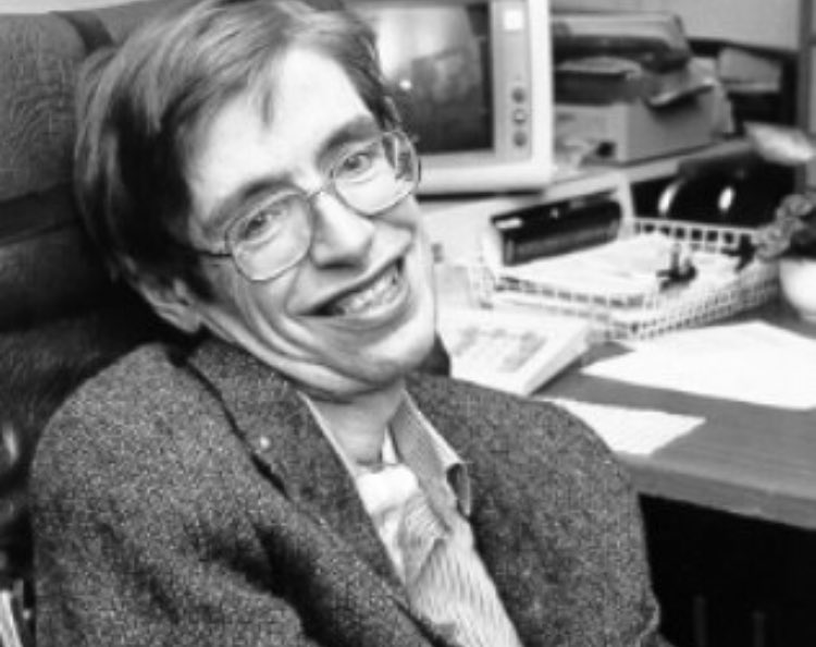 RIP Stephen Hawking. Thanks for explaining the universe to us.