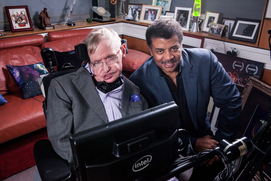 His passing has left an intellectual vacuum in his wake. But it's not empty. Think of it as a kind of vacuum energy permeating the fabric of spacetime that defies measure. Stephen Hawking, RIP 1942-2018.
