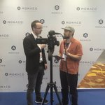 Image for the Tweet beginning: CEO @Kris_HK being interviewed by