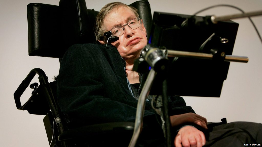 """""""Life would be tragic if it weren't funny.""""   """"The greatest enemy of knowledge is not ignorance, it is the illusion of knowledge.""""   - One of the world's best loved scientists, Stephen Hawking http://bbc.in/2tQcT88  More: http://bbc.in/2FwCw34"""