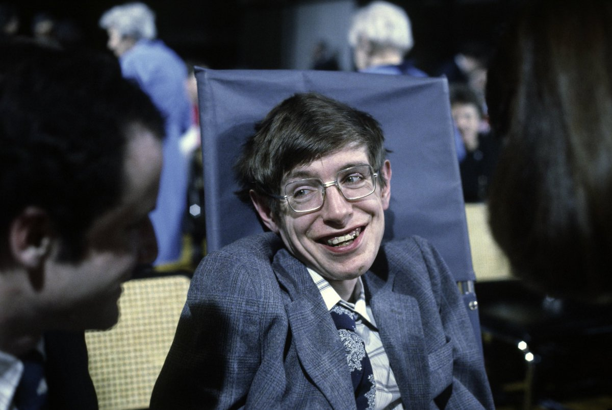 Professor Stephen Hawking has died at the age of 76. ????????