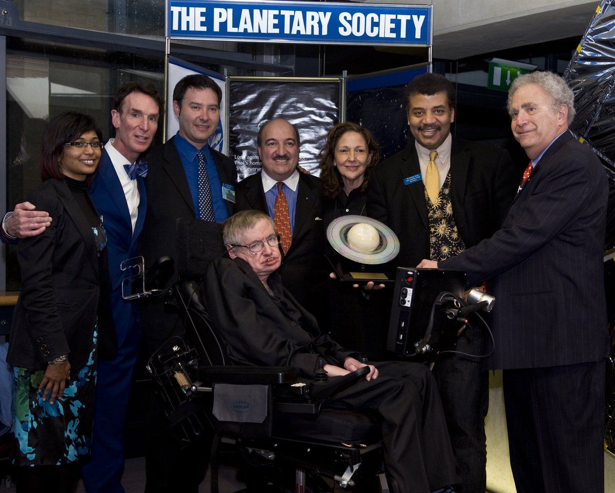 Goodbye, Dr. Hawking. Thank you for sharing your beautiful mind with this pale blue dot.