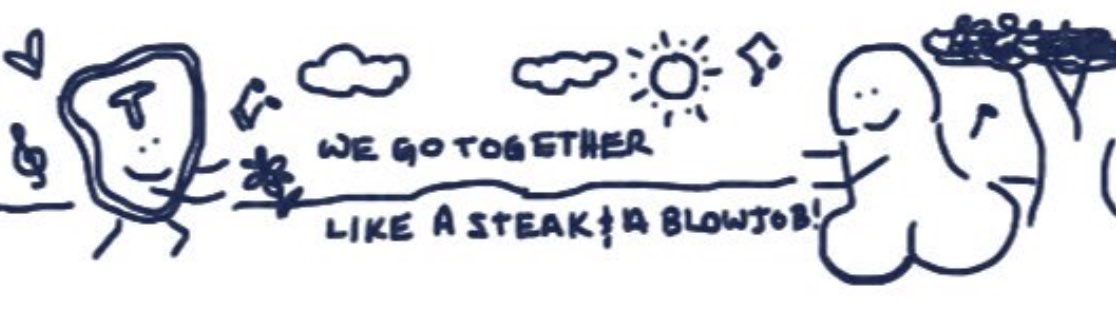Happy Steak and a BJ Day, everybody! I made a card, best I could do w/out a stylus.   #steakandbjday <br>http://pic.twitter.com/bIBQP9R6YM