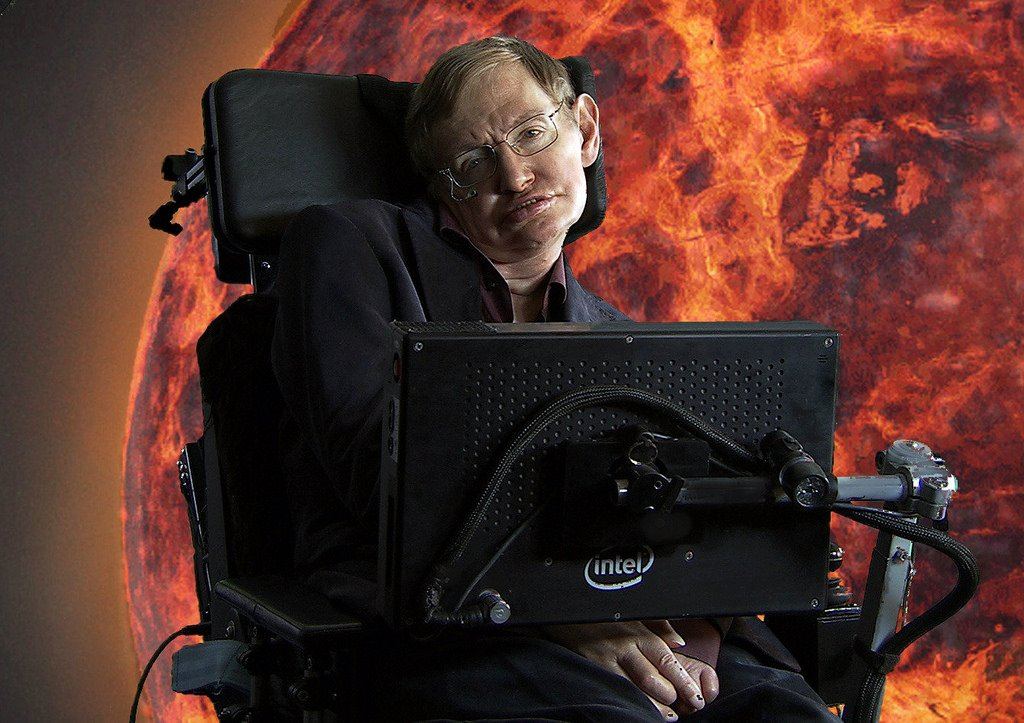 Stephen Hawking was born on the date of Galileo's death, the 8th of January.  He has died on the date of Albert Einstein's birth, the 14th of March.