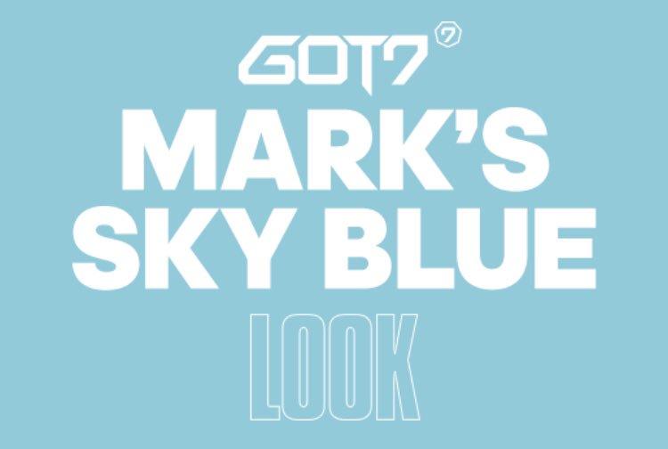 MARK'S SKY BLUE💙  #GOT7 #갓세븐 #EyesOnYou #Look #LookGOT7  #adidas #아디다스  #MARK #마크  ▶︎