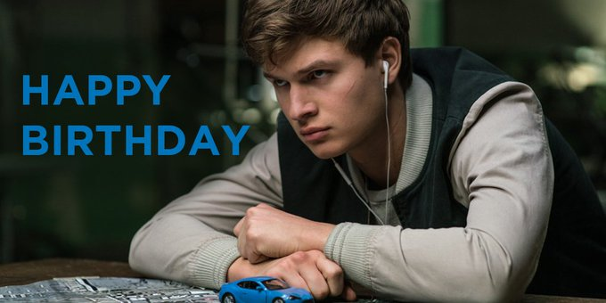 Wishing a Happy Birthday to the talented Ansel Elgort! Catch him in Baby Driver
