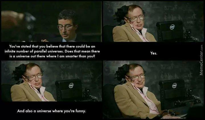 Stephen Hawking – genialer Physiker mit Weitblick und Verantwortungsbewusstsein. R. I. P.