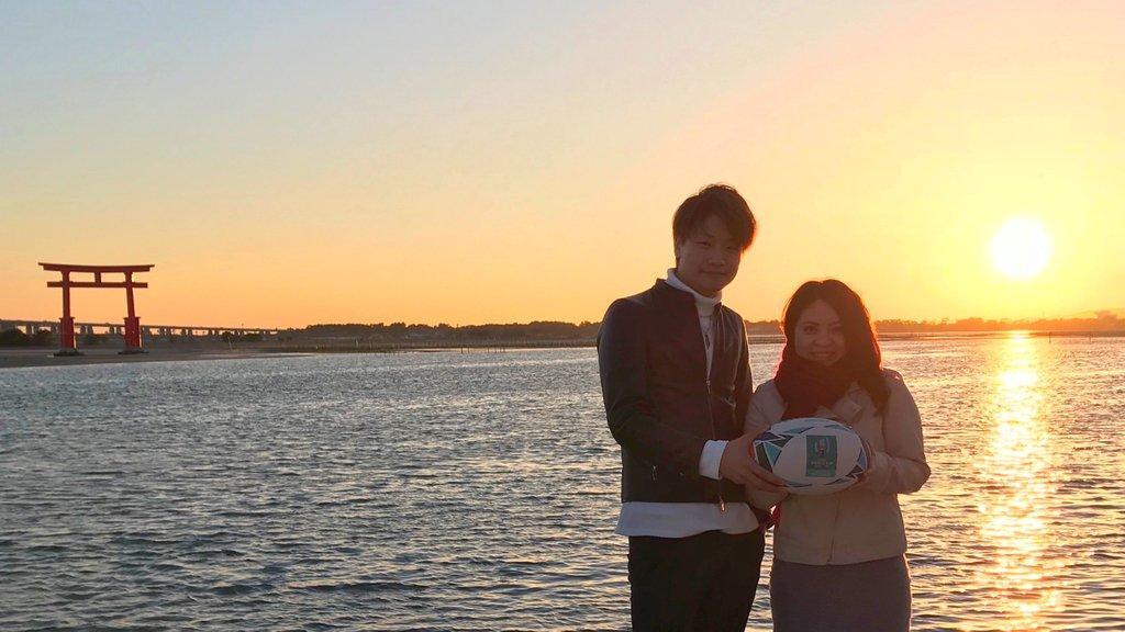 開催都市のひとつ静岡県は浜名湖の弁天島⛩ みなさまも大好きな方と幸せな #ホワイトデー をお過ごしください💕 #RWC2019 #静岡