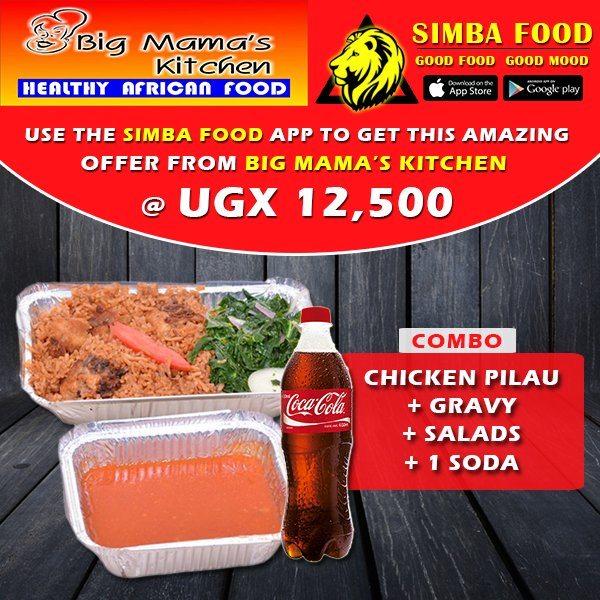 Simba food on twitter order food online using the simbafood app order food online using the simbafood app to get amazing offers from big mamas kitchen acacia mall download our free app android httpsgoon68e6h forumfinder Gallery