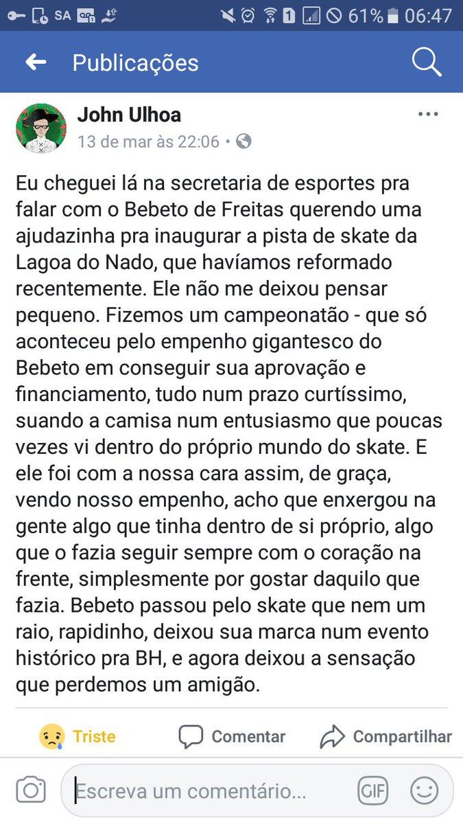 Atlético News's photo on Bebeto de Freitas