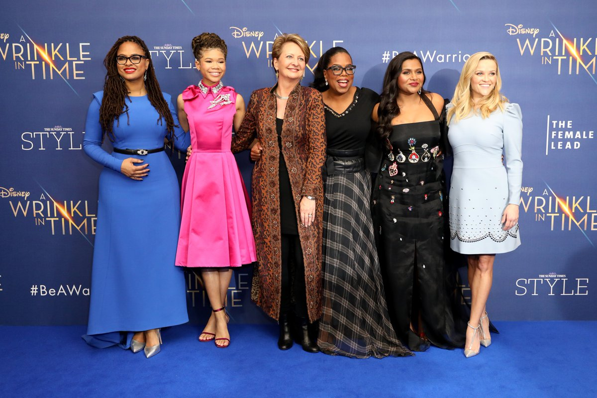 What a night! We had the most fantastic time celebrating #WrinkleInTime and the power of role models with @ava, the cast, Female Lead icons and guests aged 6-60! More special content from the night to come... Thank you to our friends at @Disney_UK and @TheSTStyle. #thefemalelead