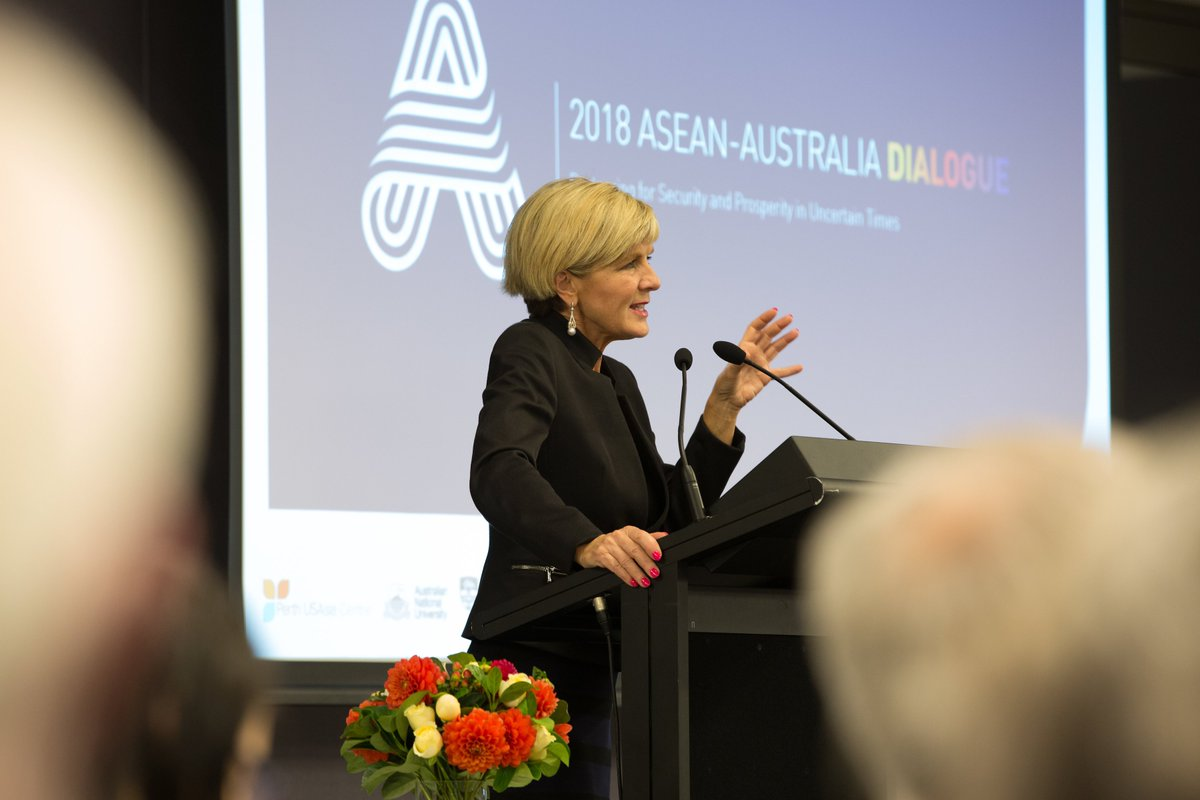 If one were to assess #ASEAN against its own standards, that is, peace & prosperity & progress, then it has been an overwhelmingly success & the raw statistics tell the story read @JulieBishopMP speech from the ASEAN-Australia Dialogue last night foreignminister.gov.au/speeches/Pages…