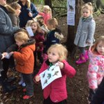 Nursery had a wonderful time on their trip @hartsholmepark hunting for dinosaurs and making them out of clay and natural materials.