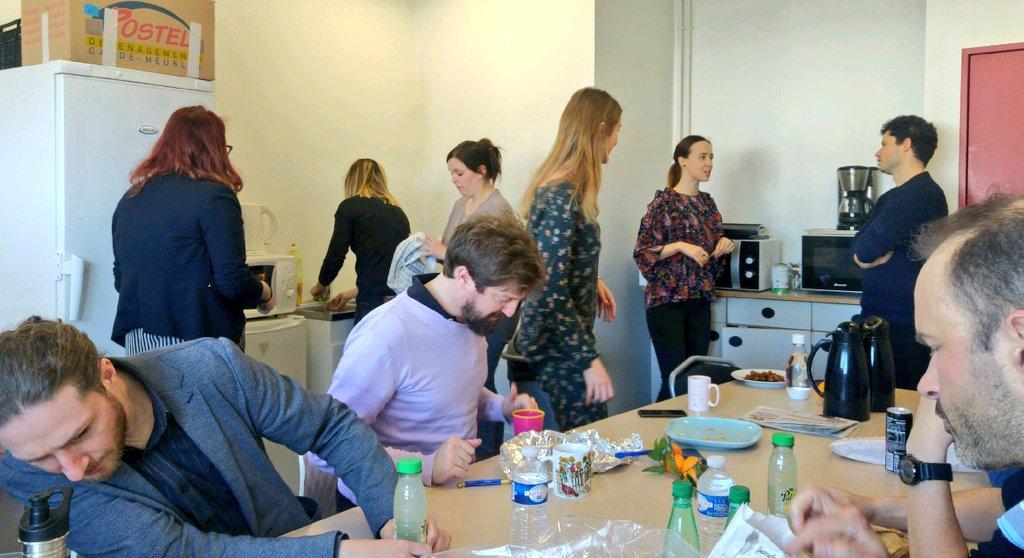 Journée #accompagnement collectif pour nos #projets Rouennais ! #startup #coaching #BoostTonProjet Pause dej bien méritée ! #PrendreDesForces https://t.co/frL2CL5iJp