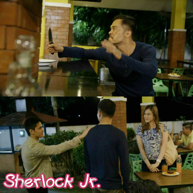 #SherlockJrPagliligtas twitter.
