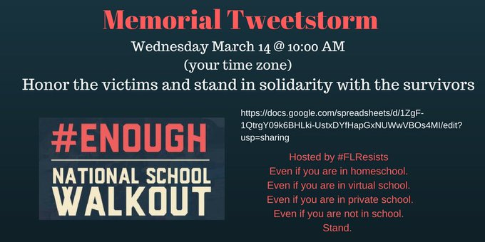 #NationalWalkoutDay twitter.