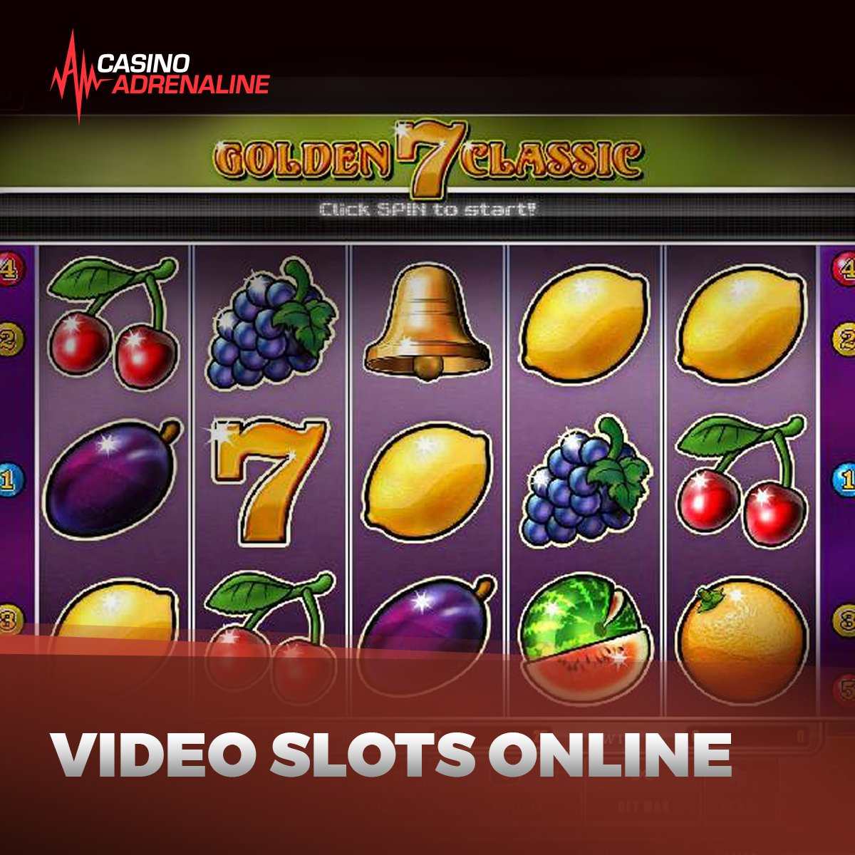 test Twitter Media - For extra fun try our video slots online! 😁 #CasinoAdrenaline #enjoythegame Try now: https://t.co/iFuIVGRvz8 https://t.co/RzWMNgyKqs
