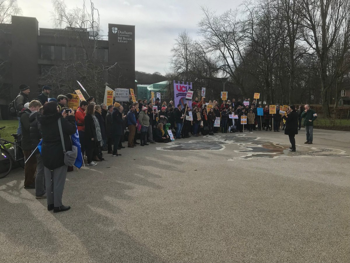 Day 12: Support for #strikeforuss continues to grow UCU is now making preparations for strikes over the assessment & exam period. We want urgent talks with the universities representatives to try and find a way to get this dispute resolved