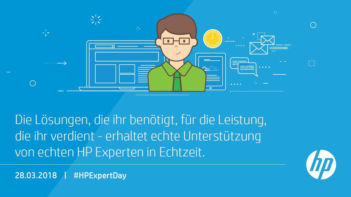 Benötigt ihr Hilfe bei eurem HP Produkt? Besucht uns am #HPExpertDay am 28. März und erhaltet die Lösung, die ihr benötigt. https://t.co/1Bjflp3xxb https://t.co/8YttCvuBKS