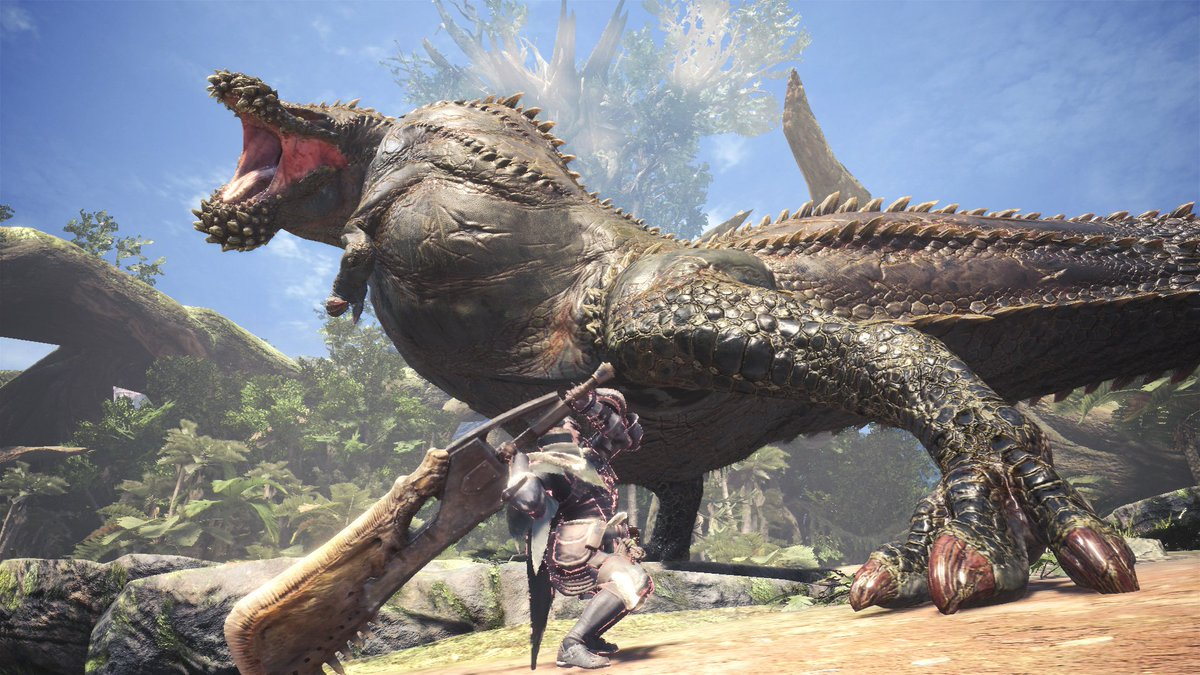 BEWARE! The World Eater arrives in #MHWorld on March 22!