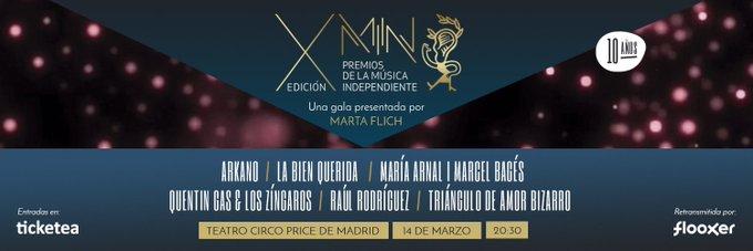 #PremiosMIN