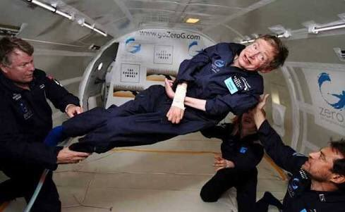 Além de físico brilhante e embaixador da ciência, uma figura inspiradora. #RIPStephenHawking