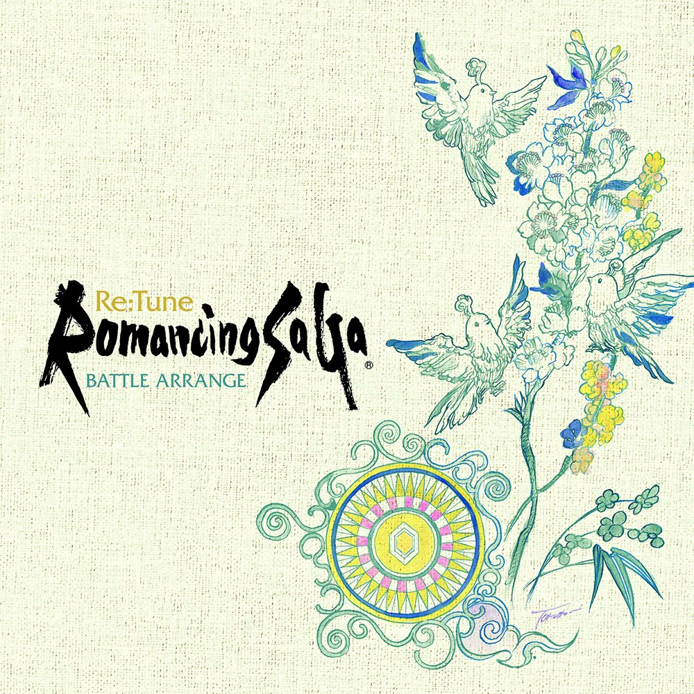 『Re:Tune Romancing SaGa BATTLE ARRANGE』本日発売になりました!イトケンさんの新境地ともいえるアレンジの数々、さらにジャケットイラストは小林智美さん描き下ろしの「春をたたえる」を使ったデザイン。耳でも目でも楽しめる1枚です! square-enix.co.jp/music/sem/page… #ロマサガ #サガ