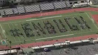 WATCH: California students spell out #En...
