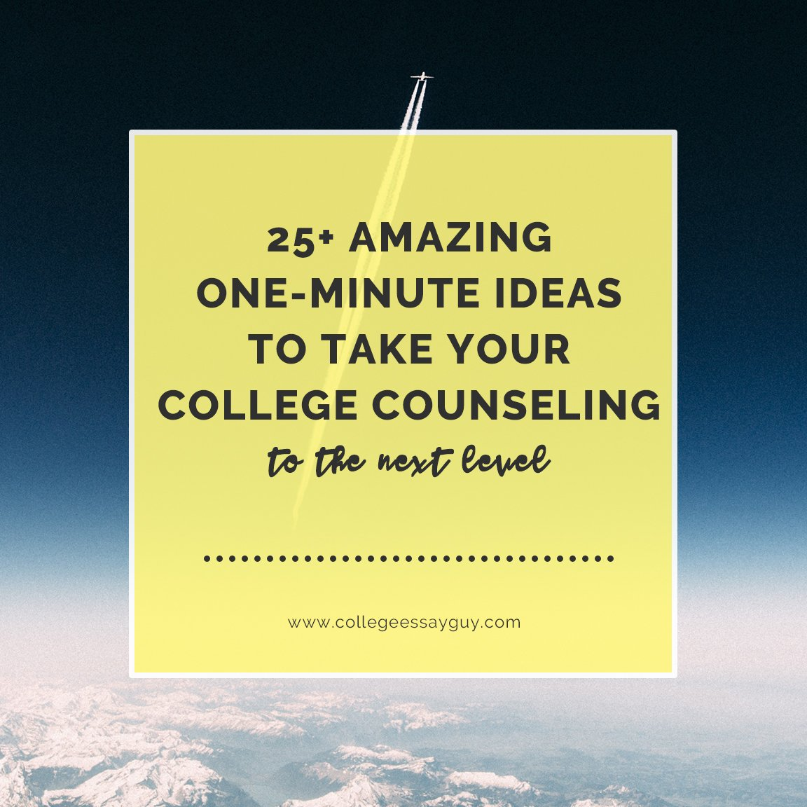 My colleagues (Evelyn Alexander and Casey Rowley) and I spent several weeks in early 2017 asking some of the best counselors in the land for their best advice. We curated their top tips … and here are 25+ tips to improve your counseling life! goo.gl/LsaZSt