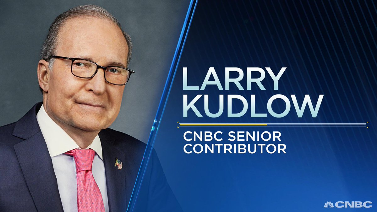 BREAKING: President Trump to name Larry Kudlow NEC chairman as early as tomorrow, sources say. cnbc.com/id/105065315