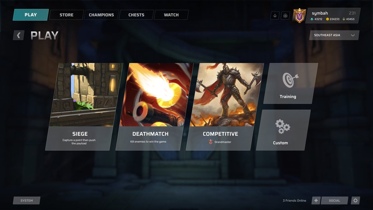 haphaphap on twitter paladinsgame ui but in modern world cc