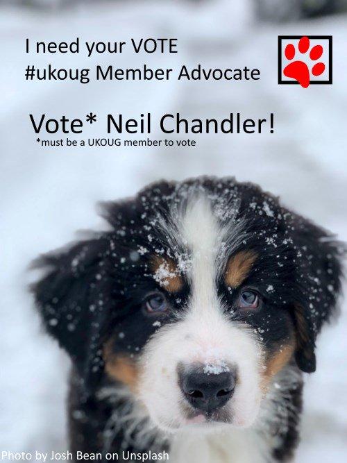 Neil Chandler UKOUG Member Advocate