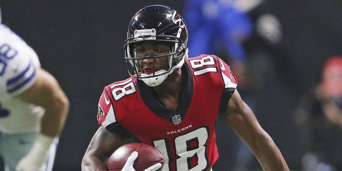 46d614d79b8 Free agency roundup: Bears expected to sign ex-Falcons WR Taylor Gabriel to  four-year, $26M deal ...