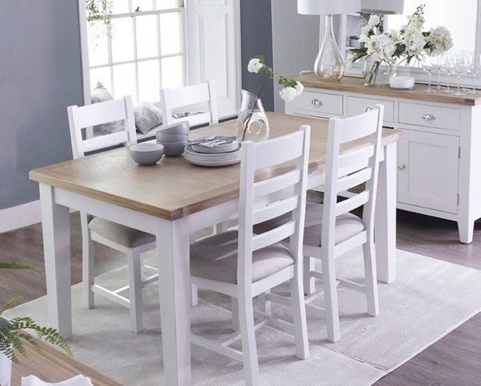 Combining Classic U0026 Contemporary, The Florence Oak In White   The Florence Oak  In White Painted Range From House Of Oak Combines Classic And Contemporary.