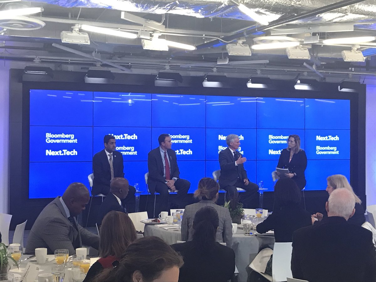 Joining @RepPeteOlson and @RepRoKhanna to discuss #tech policy and the #SELFDRIVE Act this morning at @BGOV #bloombergnext <br>http://pic.twitter.com/4XVCwMOoeo