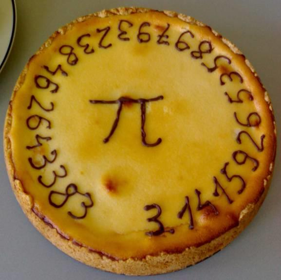 It's March 14 (3.14) – Happy 'Pi day'! #π Today's date resembles 3.14159, the common approximation of the mathematical constant Pi. Pi is the ratio of the circumference of a circle to its diameter. It doesnt matter how big or small the circle is - the ratio stays the same.