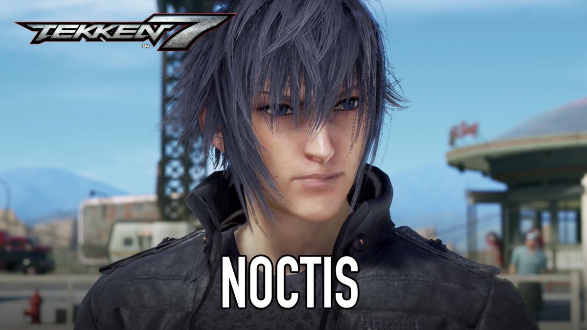 Noctis from @FFXVEN will be available March 20 on PS4, XB1 and PC in Tekken 7!
