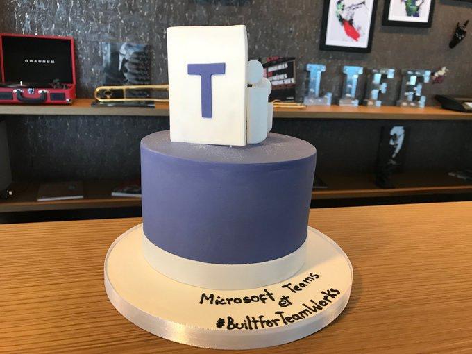 Microsoft Teams cake