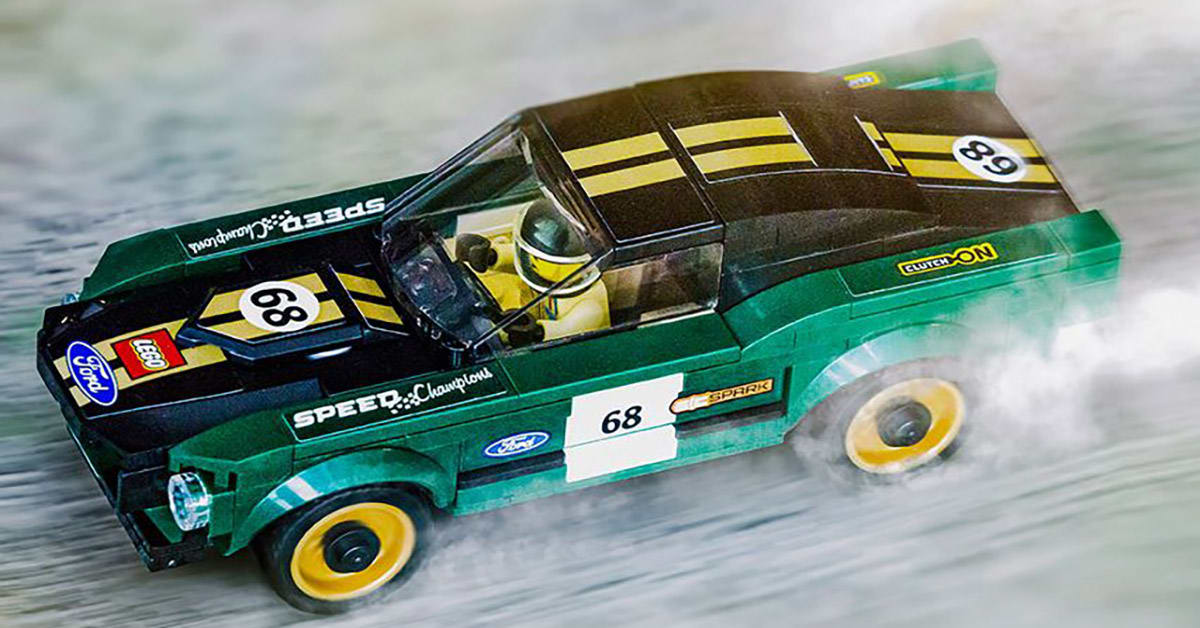 If you love classic Mustang cars, then you'll love this: you can now build one of the most iconic Mustang models ever with the addition of a 1968 Mustang Fastback race car to the LEGO® Speed Champions lineup.  https://t.co/C7vLOSkgUB https://t.co/6YdODrW2W4