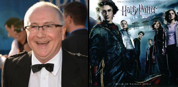 Happy 65th Birthday to Patrick Doyle! He composed the film score for Harry Potter and the Goblet of Fire.