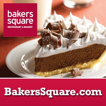 Growing up in the suburbs of Chicago we loved to go to Bakers Square. the food was #OK but the Pies were awesome. I loved French Silk #PiDay (i know, not the same)