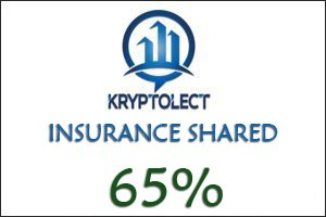 Image for Kryptolect Trades Insurance shared 65%.