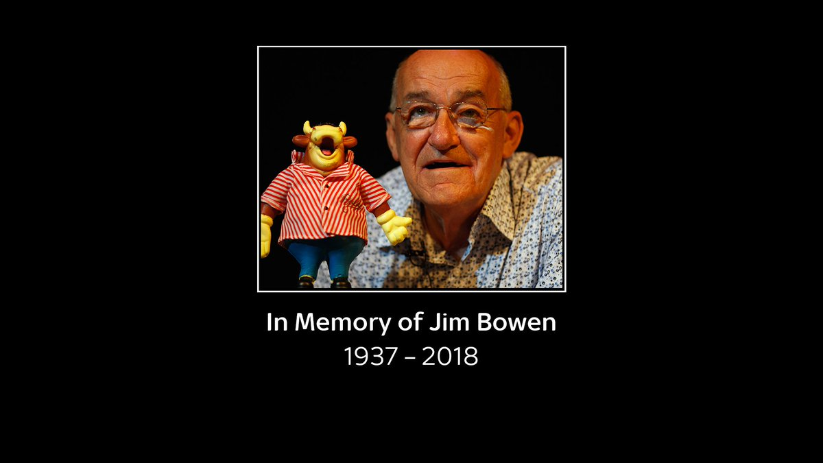 Following the terribly sad news of Jim Bowens passing well be showing the @BullseyeTVshow documentary, You cant beat a bit of bully at 9pm tonight, followed by 3 hours of Bully. And from 6am on Saturday well show 24 hours of Bully b2b, in tribute to the great Jim Bowen.