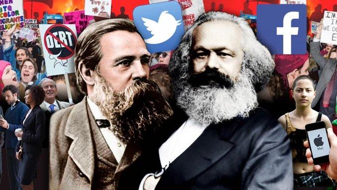 Karl Marx twitter.