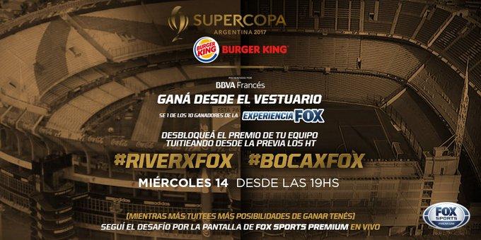 #BocaxFOX twitter.