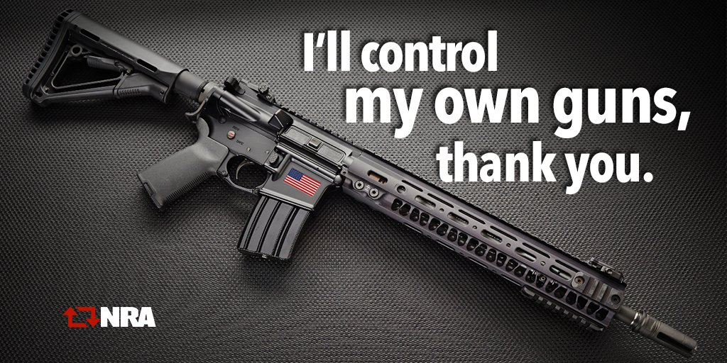 "Sti For Sale >> NRA on Twitter: ""I'll control my own guns, thank you. #2A ..."