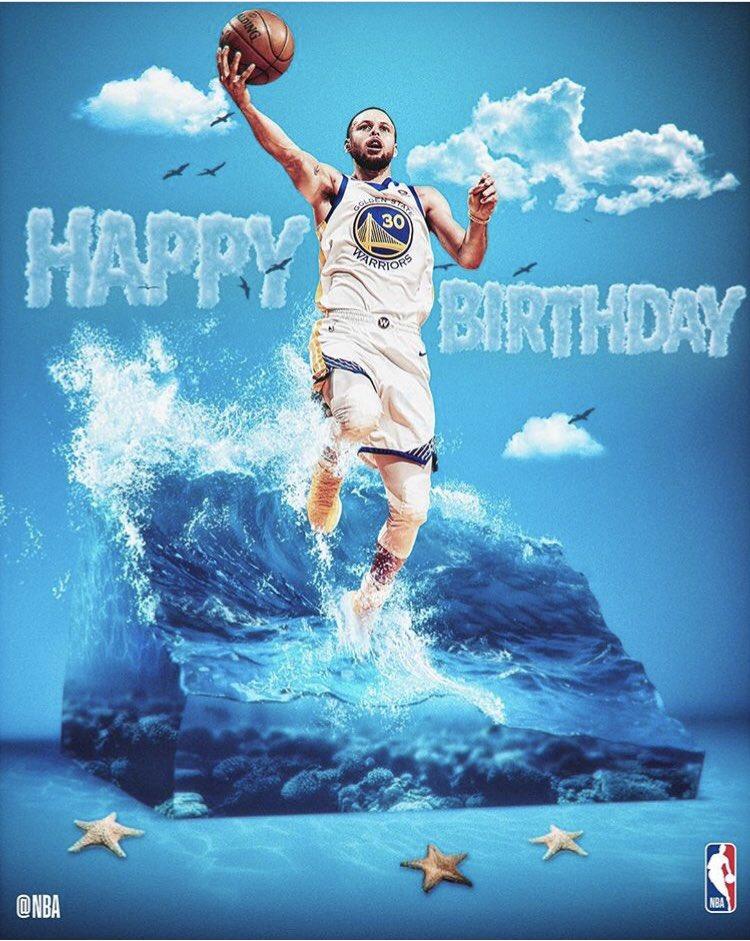 Hoy cumple 30 años uno de los Splash Brothers  ni más ni menos que Stephen Curry Happy Birthday!